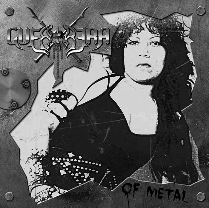 Guerrera-Guerrera of metal_www.nikkeystudio.com_heavy metal artwork_album cover_art for bands_classic metal art_Portfolio Page Header Image