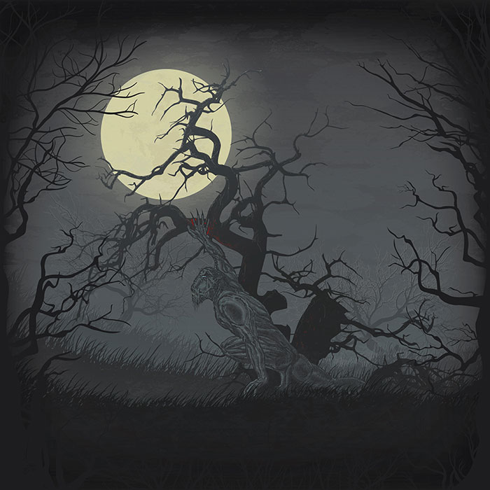 Hunting season.www.nikkeystudio.com_heavy metal artwork_album cover_art for bands_wolverine_werewolf_lycan_Lycanthrope_Portfolio Page Header Image