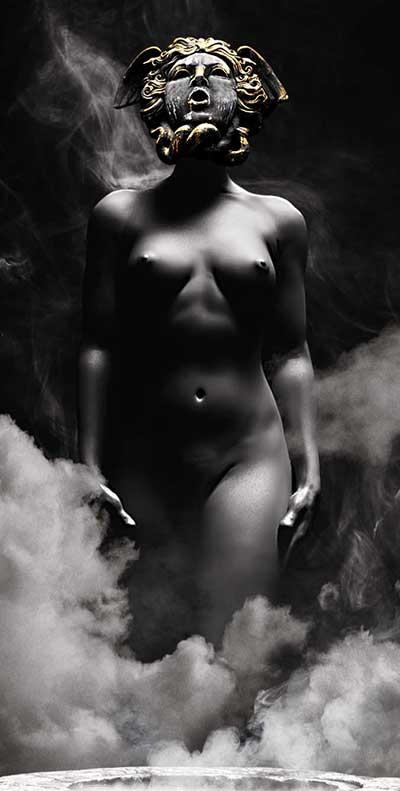 Offerings_www.nikkeystudio.com_heavy metal artwork_album cover_art for bands_wolverine_dark art_pagan art_sacrifice_Sub2