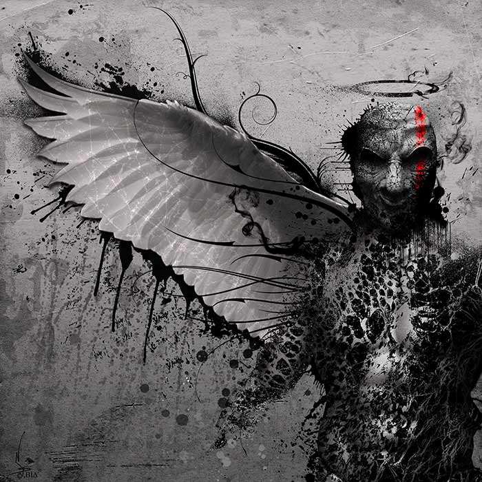 Sanctus Diavolos_www.nikkeystudio.com_heavy metal artwork_album cover_art for bands_dark art_demon_angel__Portfolio Page Header Image
