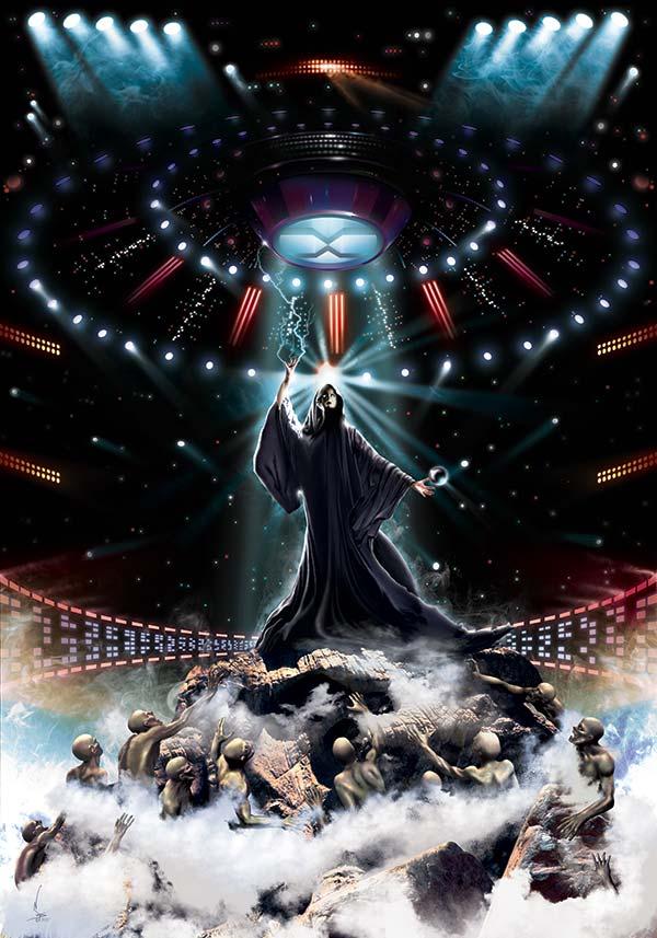 The return_www.nikkeystudio.com_heavy metal artwork_album cover_art for bands_cloaked figure_scifi art_fantasy art_Portfolio Page Header Image