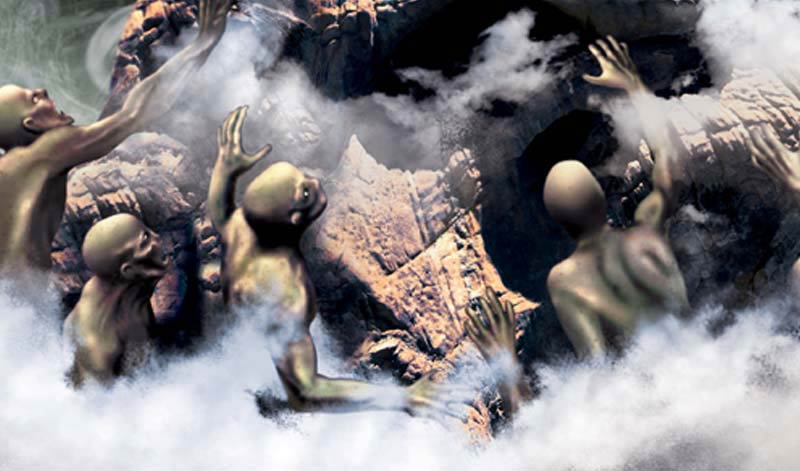 The return_www.nikkeystudio.com_heavy metal artwork_album cover_art for bands_cloaked figure_scifi art_fantasy art_Sub1